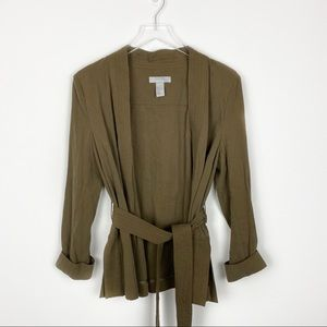 H&M Open Cardigan with Tie Front - size 6